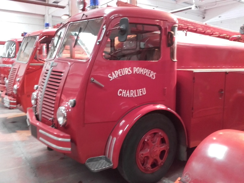 Des camions à gogo....Musée des sapeurs pompiers de Lyon - Page 4 20180351