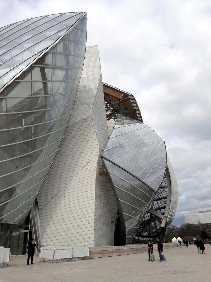 Fondation d'entreprises Louis Vuitton - Paris - France. 20180310