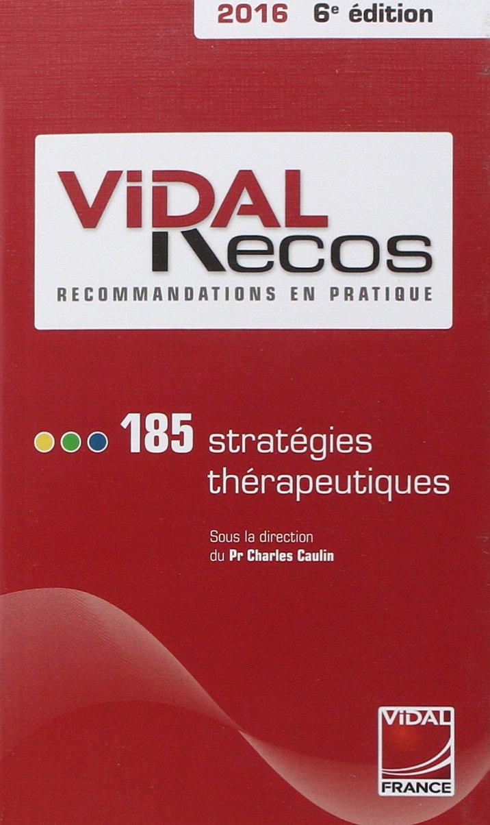 Livres Médicales - Vidal Recos 2016 6e edition 71d0yt10