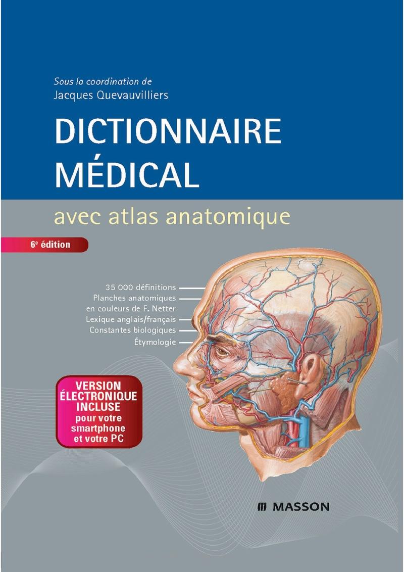 Livres Médicales - Dictionnaire médical avec atlas anatomique 6e edition Dictio10