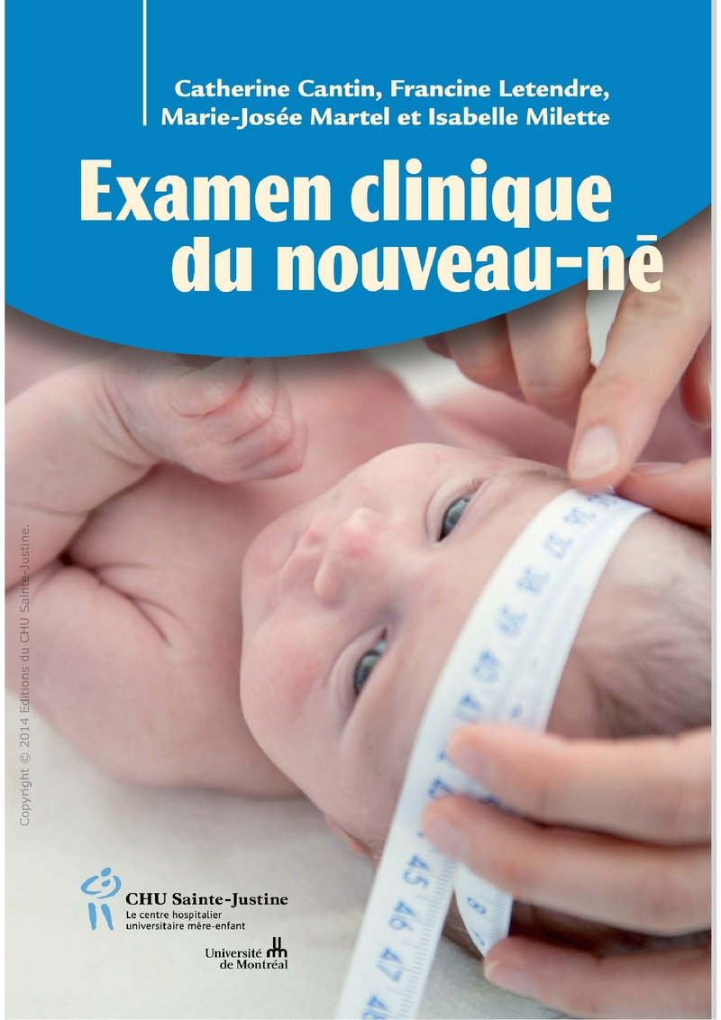 Livres Médicales - L'Examen Clinique du Nouveau-Ne Examen11