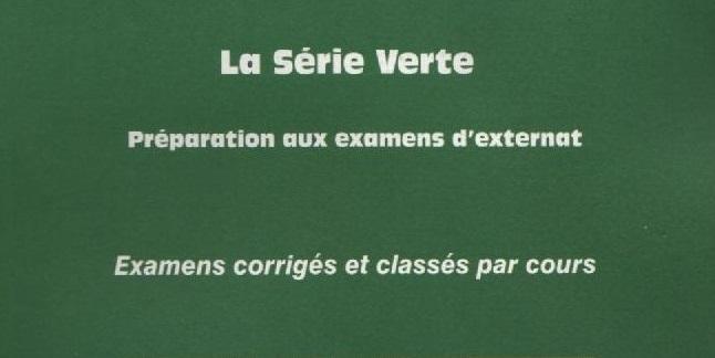 Livres Médicales - Collection Série verte Ob_e1610