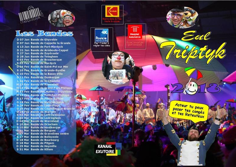 carnavals - Agenda des bandes de carnavals sur le dunkerquois en 2018  Agenda10