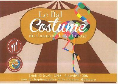 CARNAVAL - AGENDA CARNAVAL  DE L'ANNEE 2018 A MULHOUSE Bal_co11