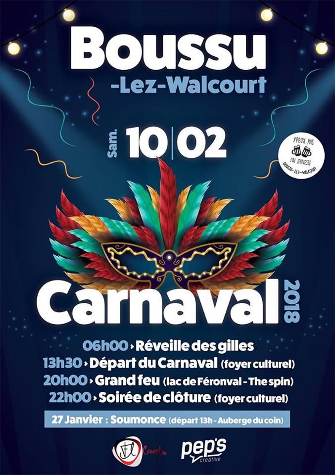 2018 - CARNAVAL DE BOUSSU-LEZ-WALCOURT 2018 Boussu10