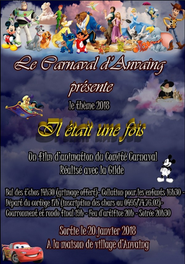 2018 - Dimanche 20 janvier 2018  Carnaval d'Anvaing Carnav14