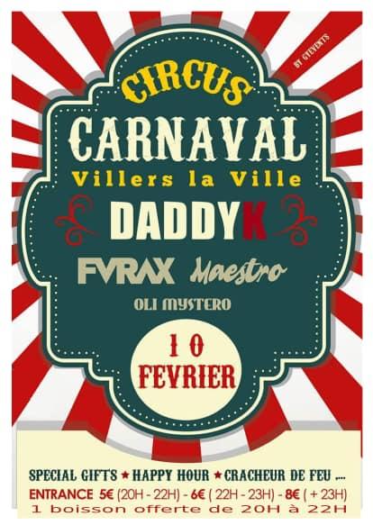 CARNAVAL - PROGRAMME DES FESTIVITES  du carnaval de Villers la ville 2018  Carnav17