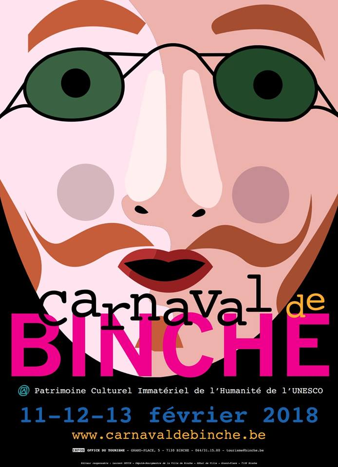 CARNAVAL - AFFICHE CARNAVAL DE BINCHE 2018 Carnav20