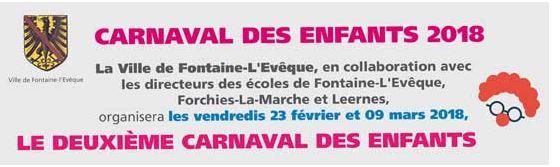 FESTIVITES FONTAINE L'EVÊQUE 2018 Carnav23