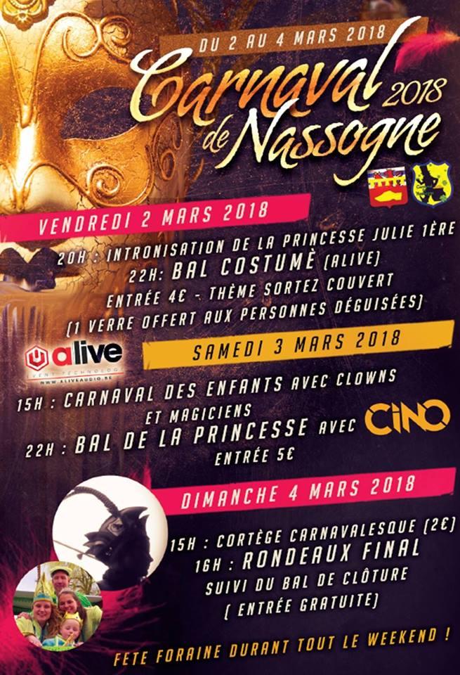 ACarnaval de Nassogne (3ième édition) DU 02AU 04 MARS 2018 Carnav24