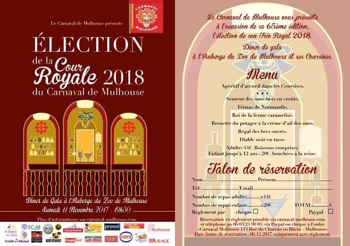 CARNAVAL - AGENDA CARNAVAL  DE L'ANNEE 2018 A MULHOUSE Electi12