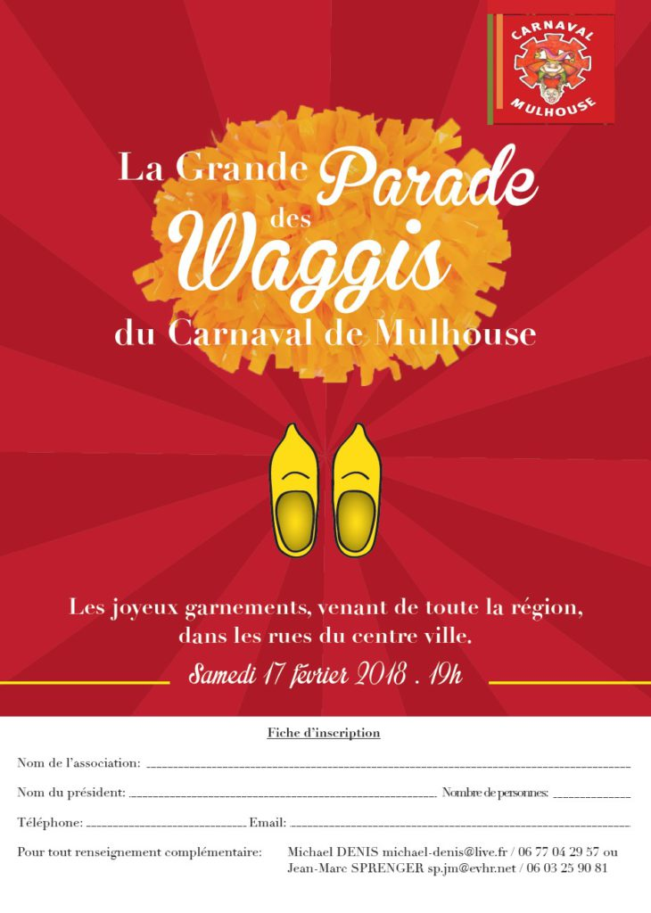 CARNAVAL - AGENDA CARNAVAL  DE L'ANNEE 2018 A MULHOUSE Parade12