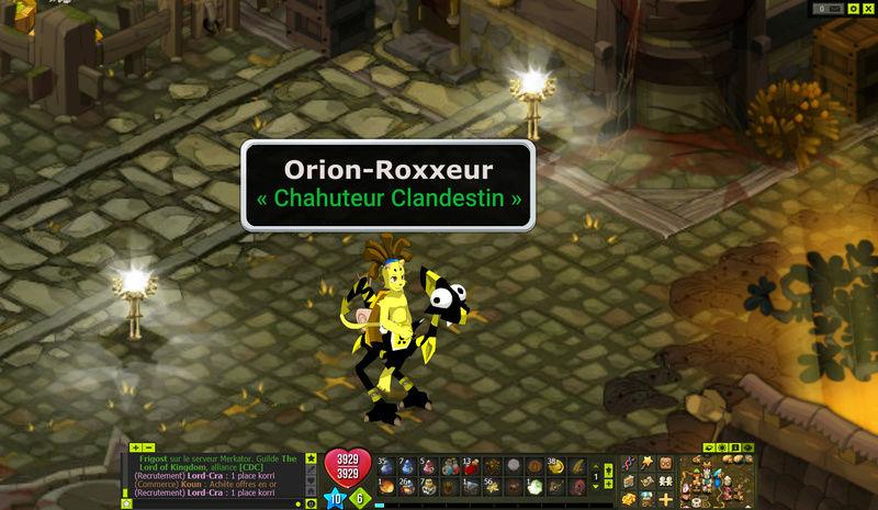 Orion arrive attention !!!  :)  Dofus-11