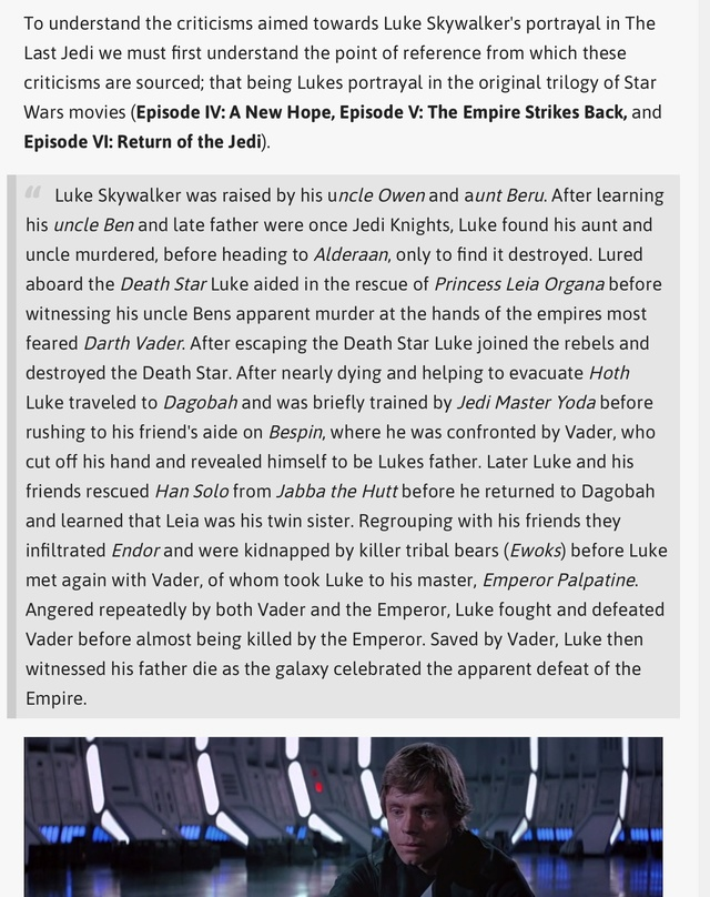 Discussion: Luke Skywalker in TLJ - Page 2 0c7a3710