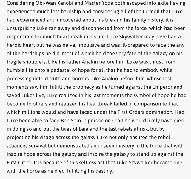 Discussion: Luke Skywalker in TLJ - Page 2 F4facf10