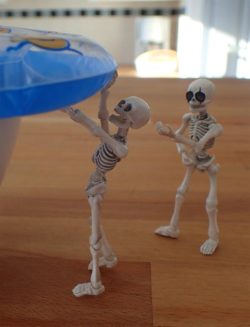 [Toys divers] 2 squelettes à la plage - Page 2 Squele10