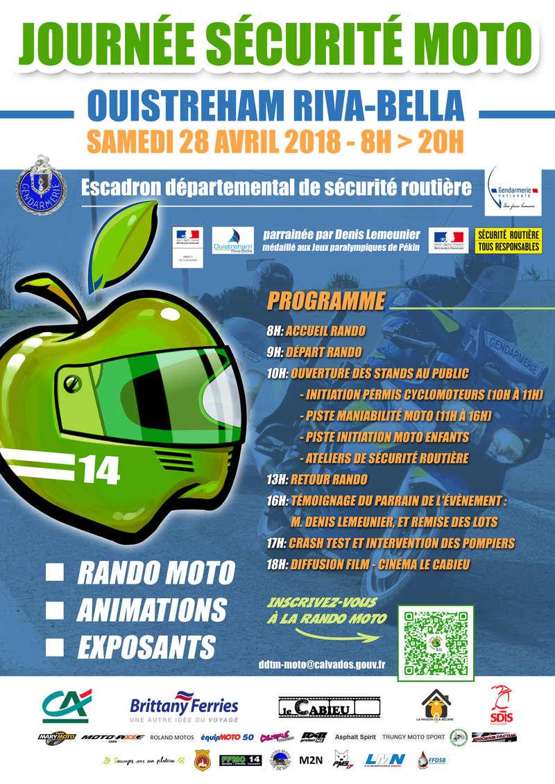 28 avril - Journée sécurité moto Ouistreham Riva-Bella Affich11