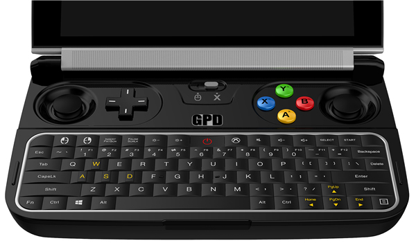 GPD WIN: A handheld game console that can run AAA games smoothly A510
