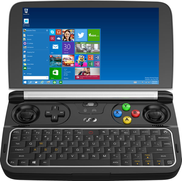 GPD WIN: A handheld game console that can run AAA games smoothly A810
