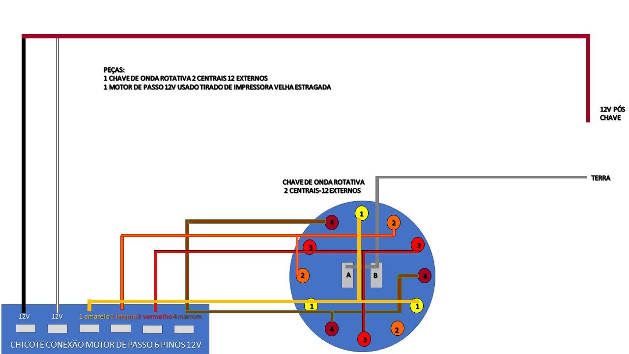 Piloto automático universal - semi-automático - Esquema Grátis Circui10