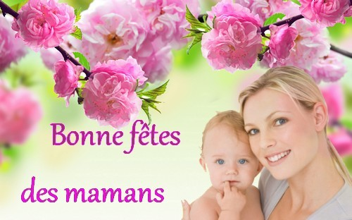 Bonne fêtes des mamans  Fonds-11