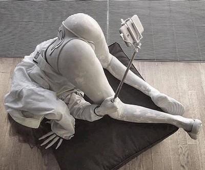 Les sculptures les plus insolite  - Page 2 Selfie10