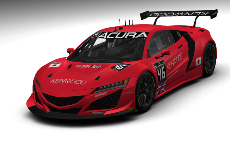 (DELETED) Acura NSX GT3 - Page 6 Kunimi11