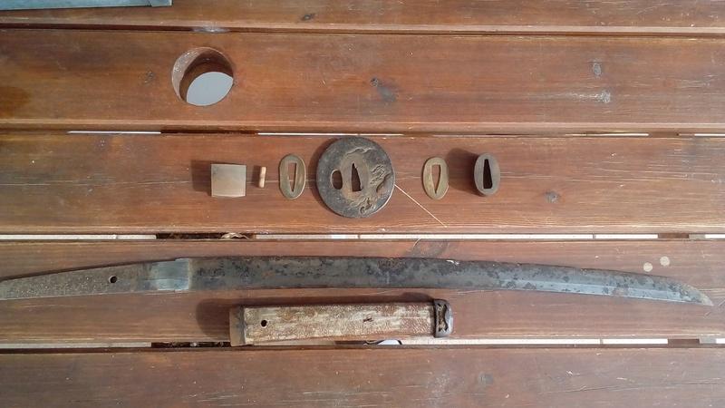 Sabre japonais 1900-1945 état !?!! 111211