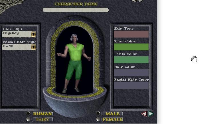 Choix de coiffure, différences entre interface et en jeu Pagebo11