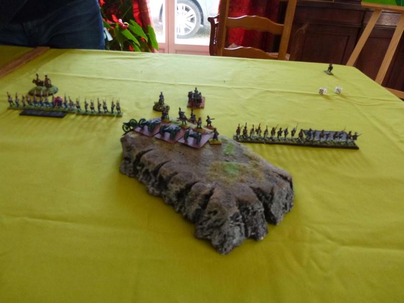 France-Autriche, partie test Artill10