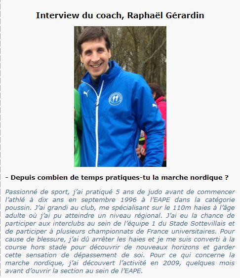 Groupe Sportif Samedi animé par Raphaël Sporti20