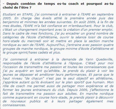 Groupe Sportif Samedi animé par Raphaël Sporti21
