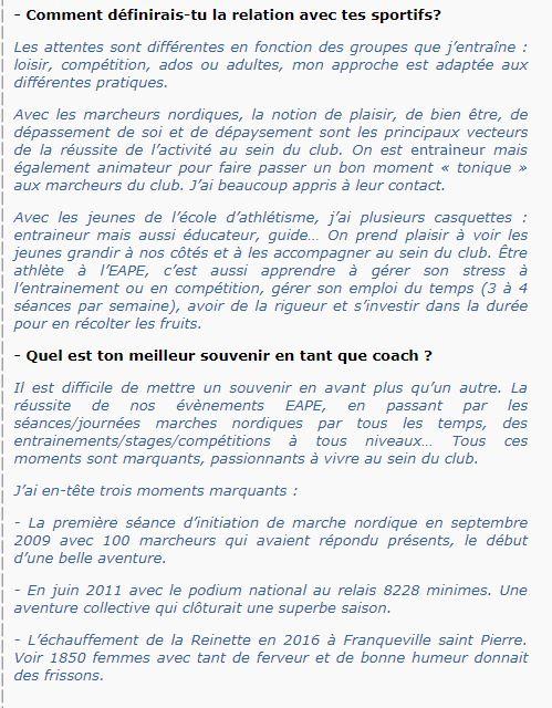 Groupe Sportif Samedi animé par Raphaël Sporti22