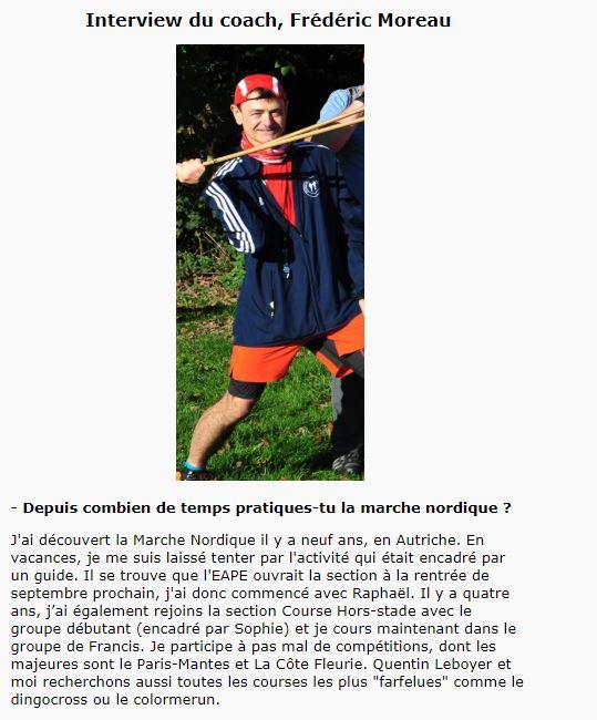 Groupe Sportif Samedi animé par Frédéric Sporti26