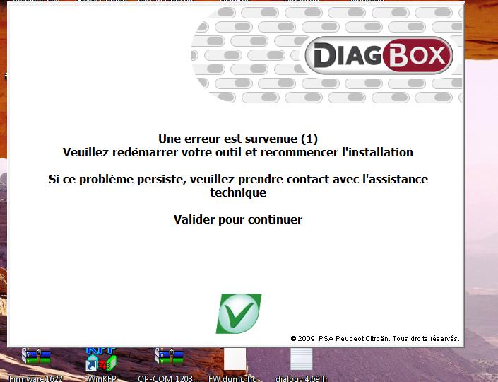 suppression des demande de mise a jour diagbox  Lancem10