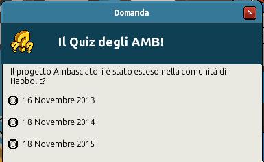 "[IT] Evento Habbo ""Terzo Anniversario AMB"": Quiz a sorpresa! -hlfo17"