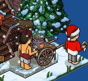 [ALL] Habbo Natale: Distintivo Segreto Belle #2 -hlfo30