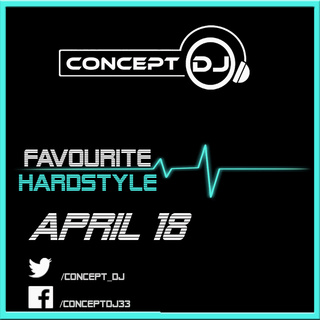Concept - Favourite Hardstyle April 18 (26-04-2018) Hardst11