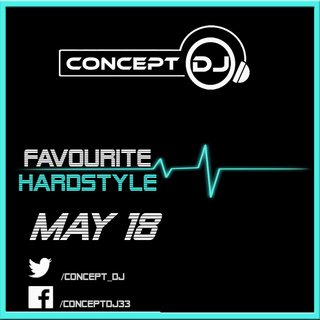 Concept - Favourite Hardstyle May 18 (18-05-2018) Hardst12