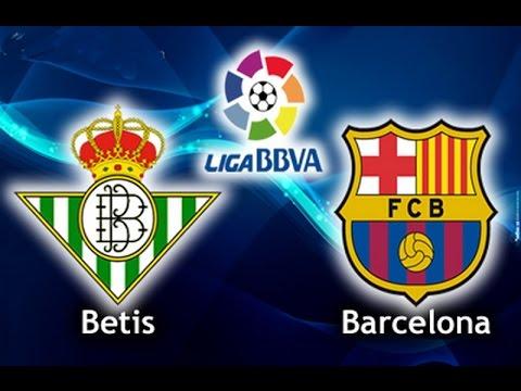 Real Betis v Barca 07545810