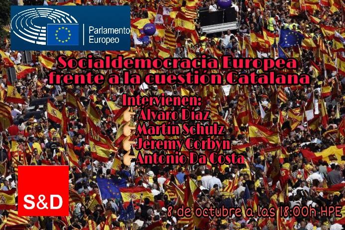 PARLAMENTO EUROPEO [SPD] | SOCIALDEMOCRACIA EUROPEA FRENTE A LA CUESTIÓN CATALANA Whatsa10