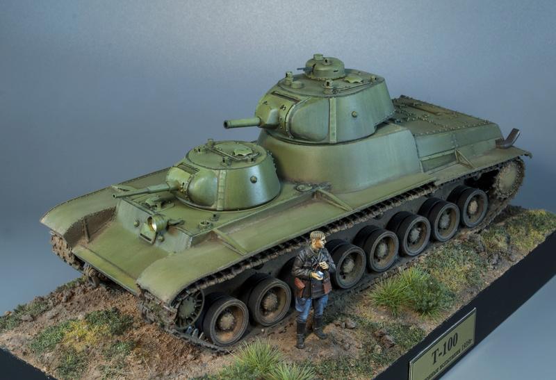 Т-100 Сталинский бронемонстр - Страница 4 1114