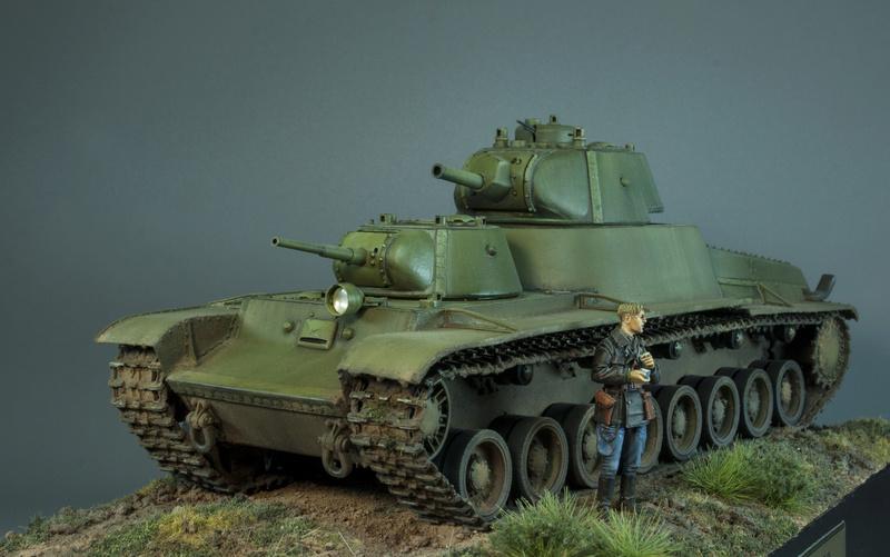 Т-100 Сталинский бронемонстр - Страница 4 117