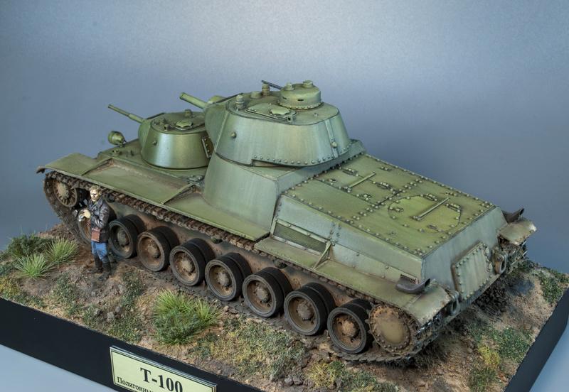Т-100 Сталинский бронемонстр - Страница 4 1212