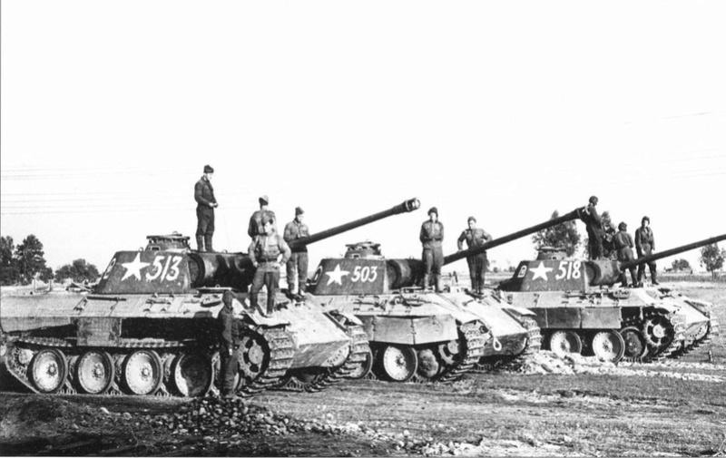 PzKpfw V ausf A Panther из роты Сотникова 12764510