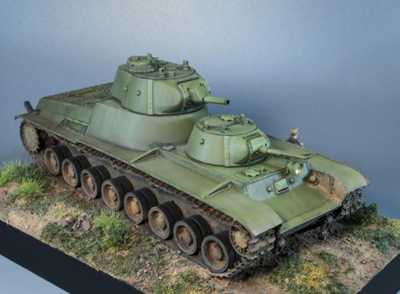 Т-100 Сталинский бронемонстр - Страница 4 1312