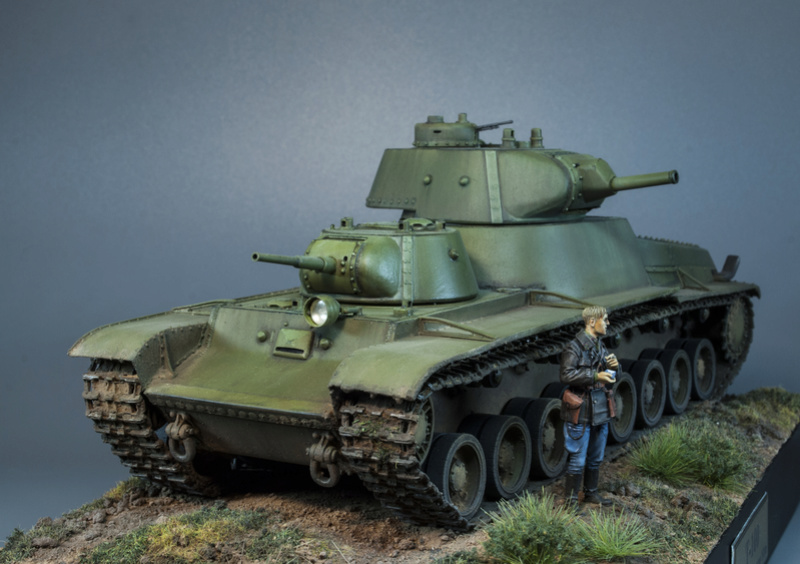 Т-100 Сталинский бронемонстр - Страница 4 216