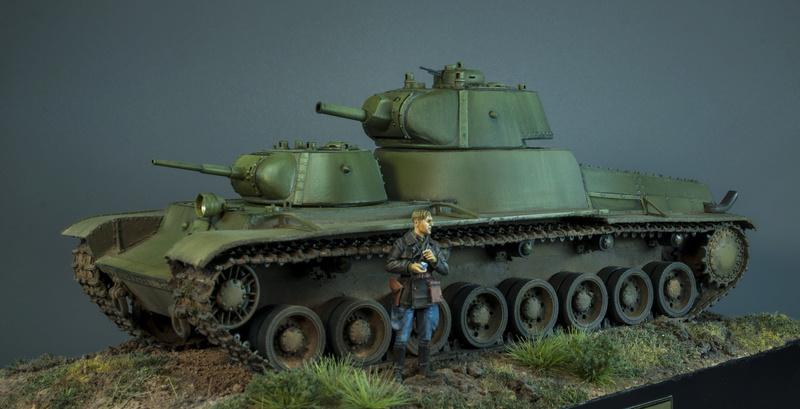 Т-100 Сталинский бронемонстр - Страница 4 316