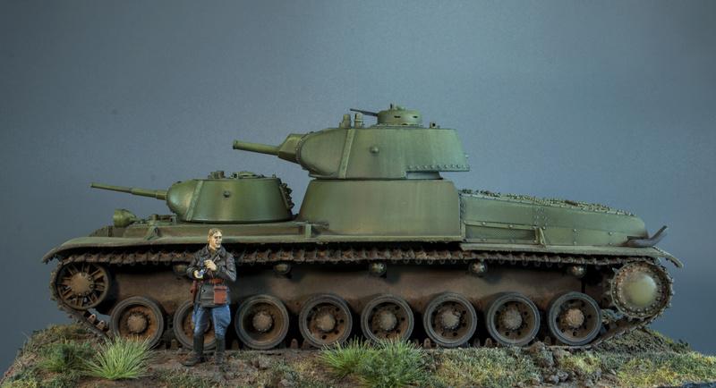 Т-100 Сталинский бронемонстр - Страница 4 417
