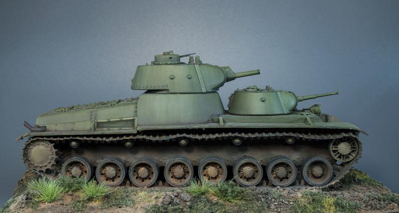 Т-100 Сталинский бронемонстр - Страница 4 515
